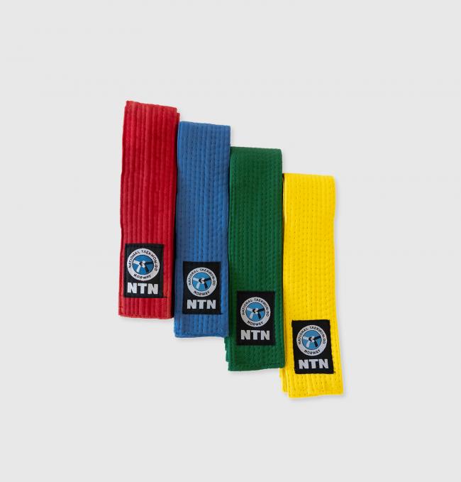 Belter senior - gult/grønt/blått/rødt
